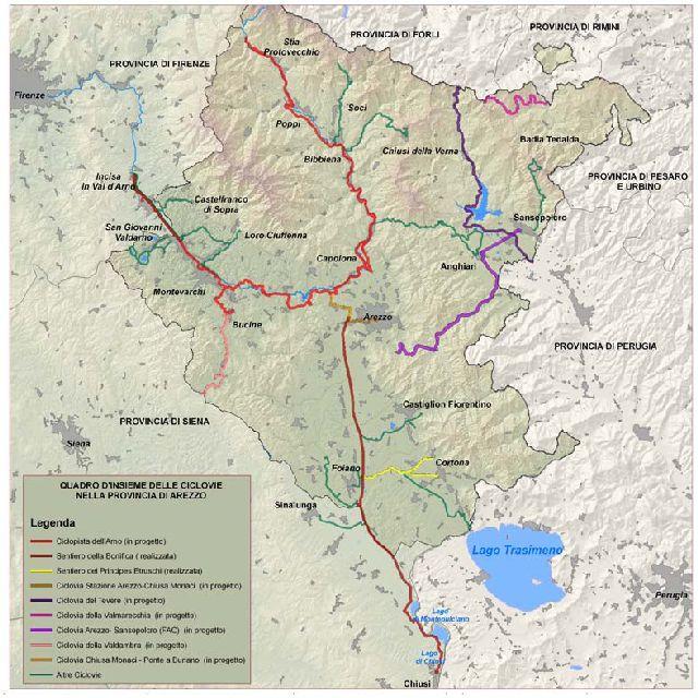 Mappa Piano Mobilità Provinciale