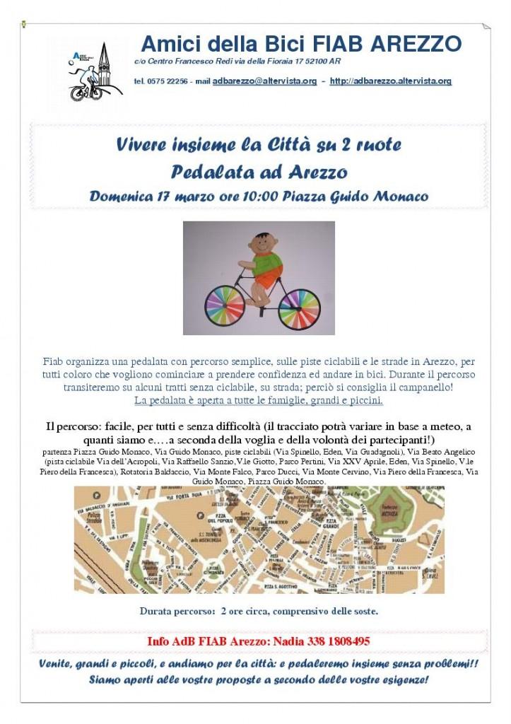 170313 pedalata in arezzo