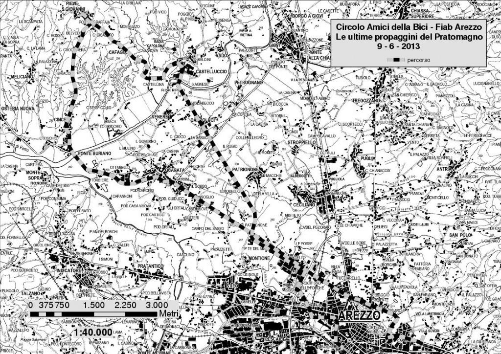 PendiciPratomagno_mappa