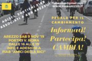 Sabato 9 Novembre Aderisci a FIAB Arezzo - Bike for Future!