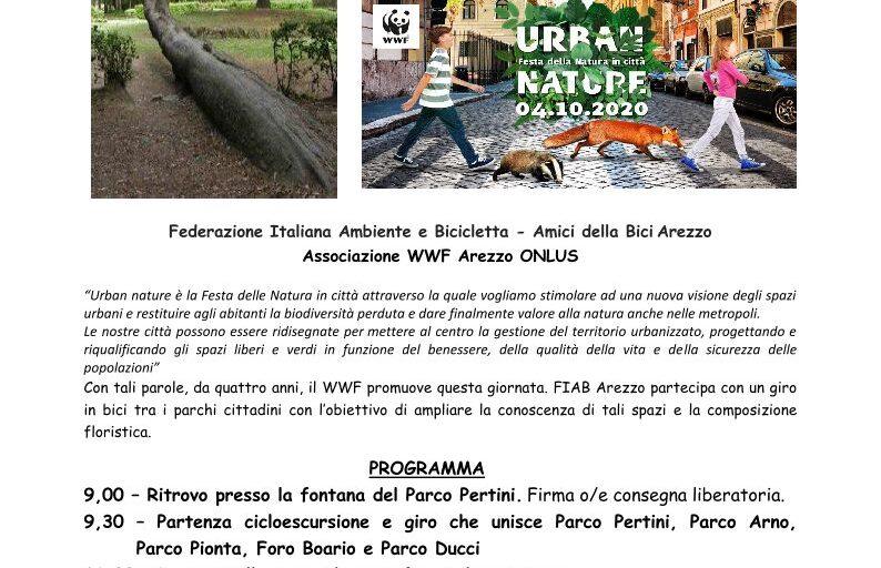 4 Ottobre 2020 Festa dei Parchi ad AR con FIAB e WWF